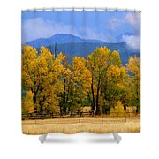 Murmur Of The Cottonwoods Shower Curtain