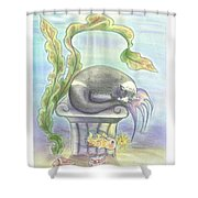 Murrcats  Shower Curtain
