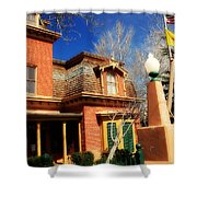 Museum In Silver City Nm Shower Curtain