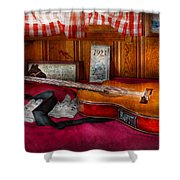 Music - Guitar - That Old Country Feel Shower Curtain