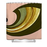 Music And Color - Dancing Digital Shower Curtain