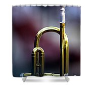 Music At Rest Shower Curtain