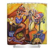 Musical Evening Shower Curtain
