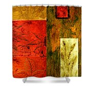 Music Of The Fall Shower Curtain