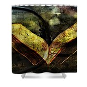 Music Reading Shower Curtain