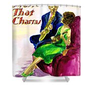 Music That Charms Shower Curtain