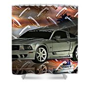 Mustang Saleen  Shower Curtain