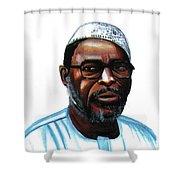 Mustapha Alassane Shower Curtain