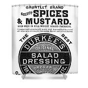 Mustard Ad, 1889 Shower Curtain