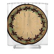 Muybridge Zoopraxiscope Horse Shower Curtain