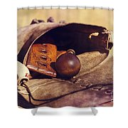 Muzzle Loader's Tools-color Shower Curtain
