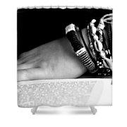 My Book Shower Curtain