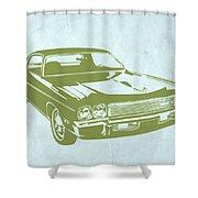 My Favorite Car 5 Shower Curtain