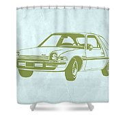 My Favorite Car  Shower Curtain by Naxart Studio