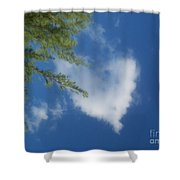 My Heart - Ile De La Reunion Shower Curtain