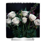 My Last Roses Shower Curtain
