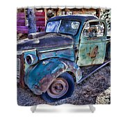 My Old Truck Shower Curtain by Garry Gay
