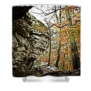 My Rock My Shelter Shower Curtain