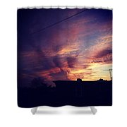 My Sky Shower Curtain by Katie Cupcakes