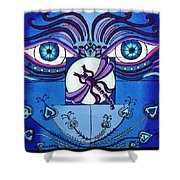 My Soulful Eyes Shower Curtain