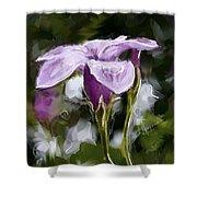 My Summer Flower Shower Curtain
