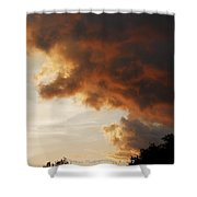 My Sunset I See Every Night  Shower Curtain