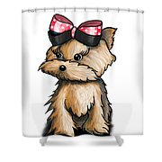 My Wonderful Package Of Love Shower Curtain