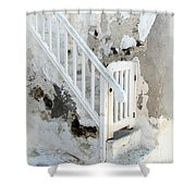 Mykonos Patina Shower Curtain