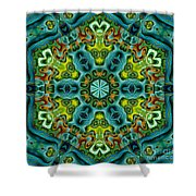 Mysteries 01  Shower Curtain