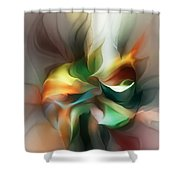 Mysterious Bloom Shower Curtain