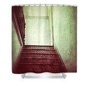 Mysterious Stairway Shower Curtain