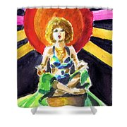 Mystic Vamp Shower Curtain