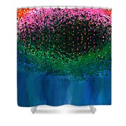Mystical Island Shower Curtain