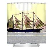 Mystical Voyage Shower Curtain