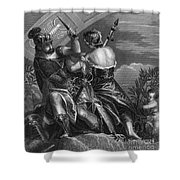 Mythology: Ares Shower Curtain by Granger