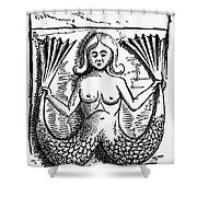 Mythology: Mermaid Shower Curtain by Granger