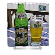 Mythos Beer Shower Curtain