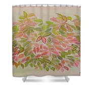Nadina Leaves Shower Curtain
