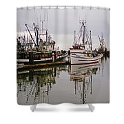 Nafco Fishing Boat Shower Curtain