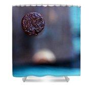Nail Shower Curtain