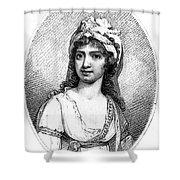 Nancy Storace (1765-1817) Shower Curtain