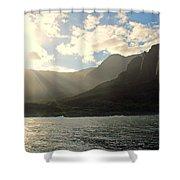 Napali Coast Sunrise Shower Curtain