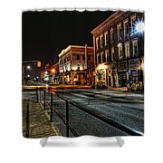 Napanee After Midnight Shower Curtain