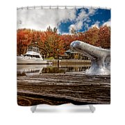 Napanee Harbour One Shower Curtain