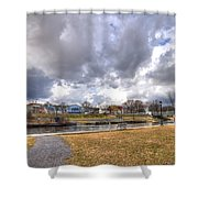 Napanee Harbour Or Free Docking With Hydro - Transients Only Shower Curtain