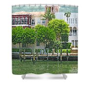 Napolean Waterway Shower Curtain