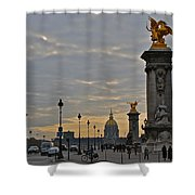 Napoleon Leftovers Shower Curtain