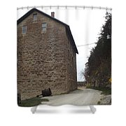 Narrow Dirt Road Shower Curtain