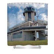 Nasa Air Traffic Control Tower Shower Curtain