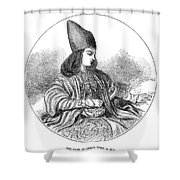 Naser Al-din Shower Curtain